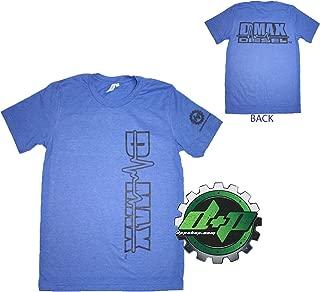 Dmax Chevy Duramax Diesel truckTee Shirt DPP Trucker Gear 4X4 2X Blue