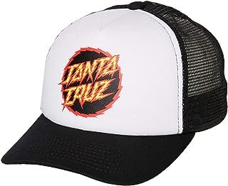 Santa Cruz Boys Boys Shock Dot Trucker - Teen Mesh Black
