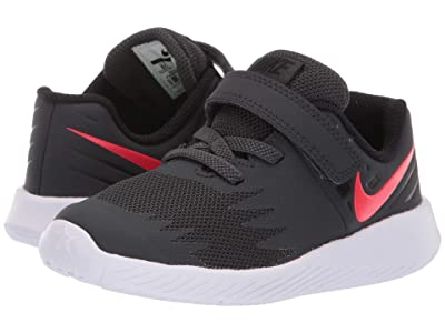 Nike Kids Star Runner (Infant/Toddler) (Anthracite/Red Orbit/Black) Boys Shoes