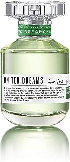 Perfume United Dreams Live Free 80ml Edt Feminino Benetton