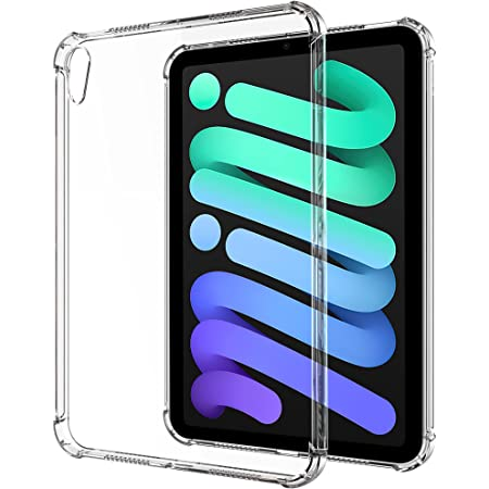 "YOCCO iPad Mini 6 ケースクリア TPUソフト透明保護 薄型 衝撃吸収 柔らかい手触り バックカバー 対応端末:Apple iPad Mini 第6世代 8.3"" 2021発売"