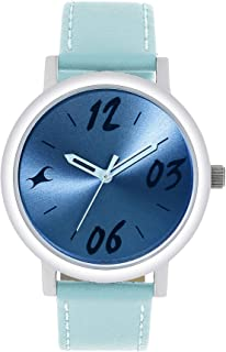 Fastrack Tropical Waters Blue Dial Analog Watch for Women, NL68010SL07