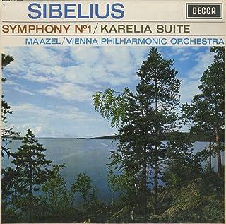 シベリウス 交響曲 1番 Op.39 組曲 カレリア Op.11 DECCA:SXL 6084 UK ED1 Original