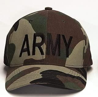 US Military Army Supreme Low Profile Cap - Woodland Camo