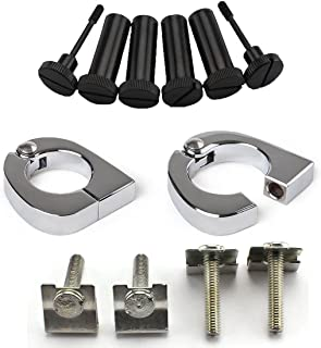 E-most CNC Quick Release Mounting Hardware For Harley Lower Vented Fairings Touring,Road King, Street Glide, Electra Glide, Ultra-Classic