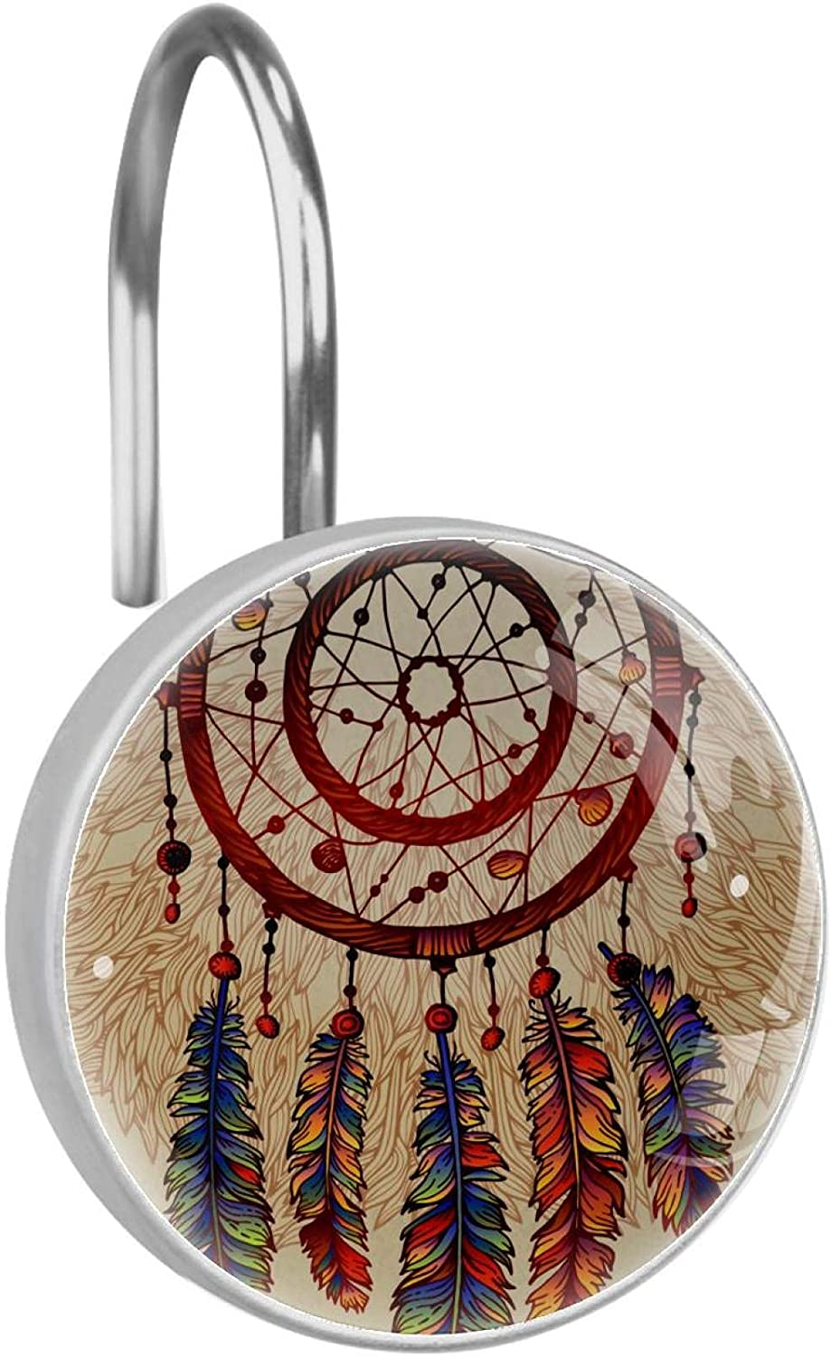 Stainless Popular products Steel Anti-rustCurtain Hooks with Sale price Indian Dreamcatcher