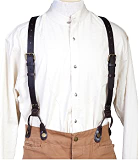 Scully 540765 Leather Suspenders