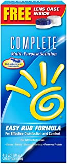 Complete Multi Purpose Solution for Soft Contact Lenses, 4 Ounce