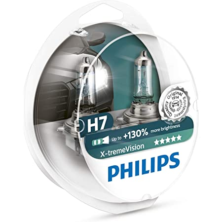 Philips 12972XV+S2 X-tremeVision Lámpara Halógena