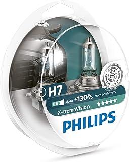 Philips automotive lighting 12972XV+S2 XtremeVision 130 Prozent Scheinwerferlampe H7 Autolampen Halogen Glühlampe, 2 Stüc...
