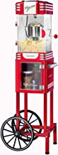 Nostalgia PC530CTRR 2.5 oz Retro Popcorn & Concession Cart, 45