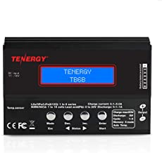 Tenergy 1S-6S Digital Battery Pack Charger for Li-Fe/Li-PO/NiCd/NiMH Packs Balance Charger Discharger w/Tamiya/JST/EC3/HiTec/Deans Connectors + Power Supply