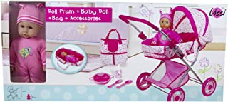 Lissi Doll Pram with 13