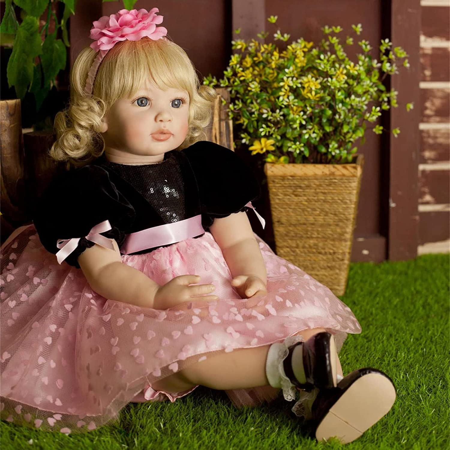 YANRU Doll Now on sale Girl 24 In 61 Baby PVC Reborn Clearance SALE Limited time cm Realisti Free