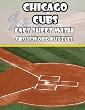 Chicago Cubs Fact Sheets with Crossword Puzzles