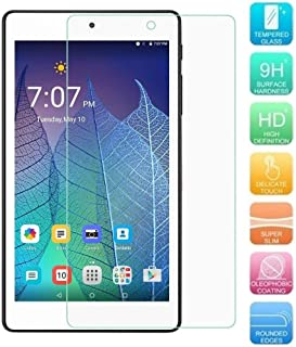 Alcatel OneTouch POP 7 LTE Screen Protector, KIQ [3 Pack] Tempered Glass Anti-Scratch 9H Toughness Scratch-Resist Easy-to-Install Self-Adhere GLASS For Alcatel One Touch Pop 7 LTE 9015W