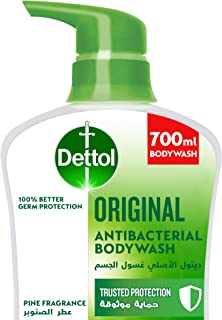 Dettol Original Showergel & Bodywash for effective Germ Protection & Personal Hygiene (protects against 100 illness causin...