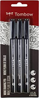 Tombow 66403 MONO Drawing Pen, 3-Pack. Create Precise, Detailed Drawings with Three Tip Sizes – 01, 03 and 05