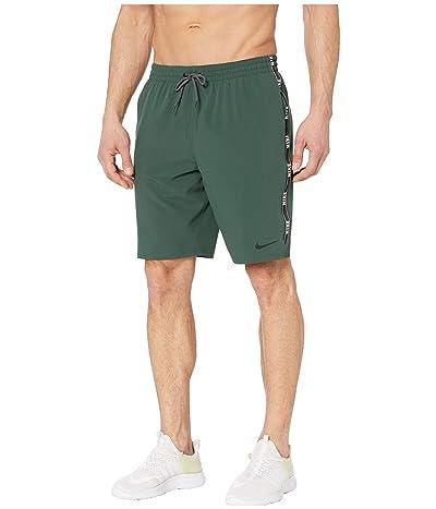 Nike 9 Logo Tape Racer Volley Shorts (Galactic Jade) Men
