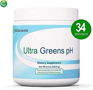 Nutra BioGenesis Ultra Greens pH - Superfood Powder Dietary Supplement with Organic Spirulina, Kelp, Enzymes & Minerals - 10.5 Oz