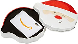 Carte cadeau Amazon.fr dans un coffret Père Noël Tout Sourire