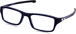 OX8039-803914 Eyeglass Frame CHAMFER POLISHED BLUE ICE...
