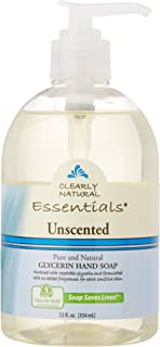 CLEARLY NATURAL Hand Soap Liquid Glycol Unscented, 12 Ounce