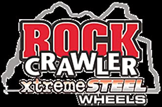 Pro Comp Wheels 52-6883R2.25M Rock Crawler Series 52 Black Monster Mod Wheel; Size 16x8; Bolt Pattern 6x5.5; Back Space 2.25 in.;