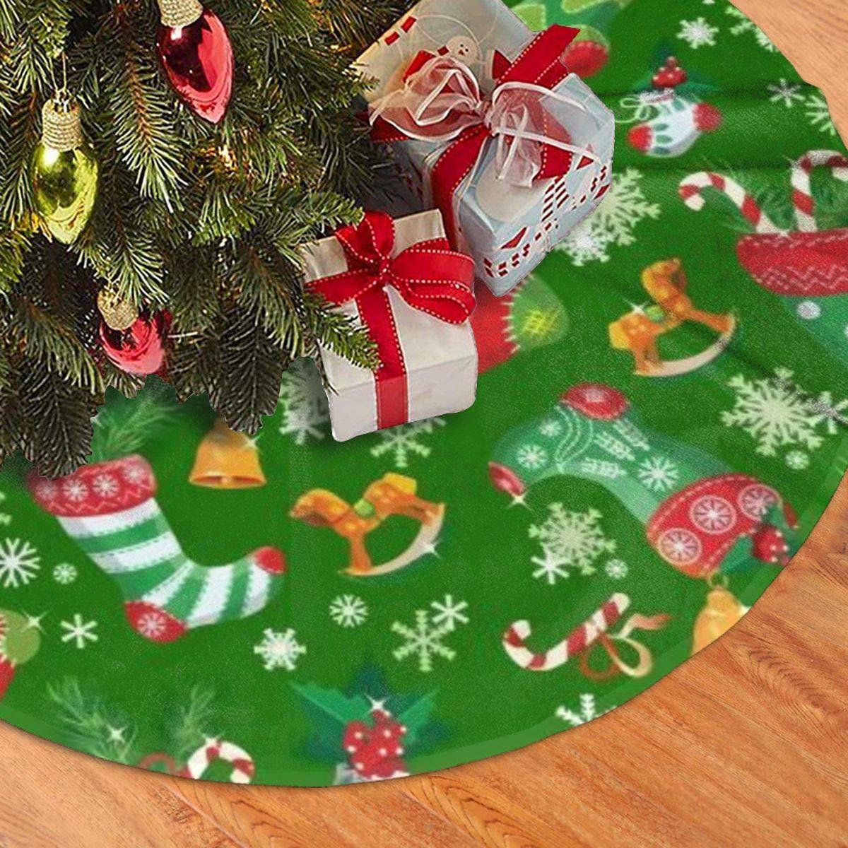 new home housewarming gift farmhouse holiday decor holiday decor birthday gift for mom christmas tree skirt winter gift for grandma