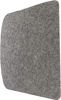 7even Fieltro para silla Tobias (355 x 425 cm), color gris