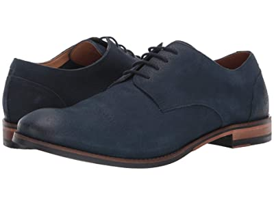 Clarks Flow Plain (Navy Nubuck) Men