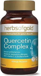 Quercetin Complex with Vitamin C & Bioflavonoids - Immune Booster - Natural Antihistamine for Seasonal Allergies & Hayfeve...
