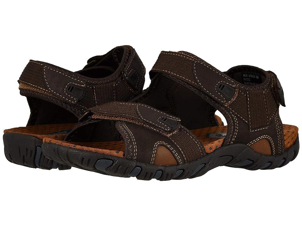 Nunn Bush Rio Bravo 3-Strap River Sandal (Brown) Men