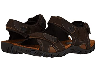 Nunn Bush Rio Bravo 3-Strap River Sandal (Brown) Men