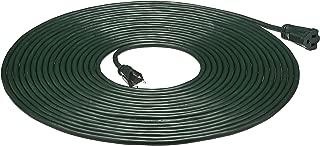 AmazonBasics 16/3 Vinyl Outdoor Extension Cord, Green, 50 Foot