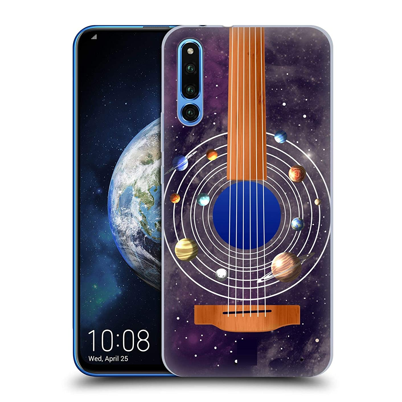 Head Case Designs Guitar Space Music Hard Back Case Compatible for Huawei Honor Magic 2