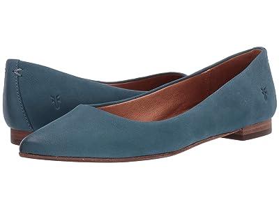 Frye Sienna Ballet (Sea Blue) Women