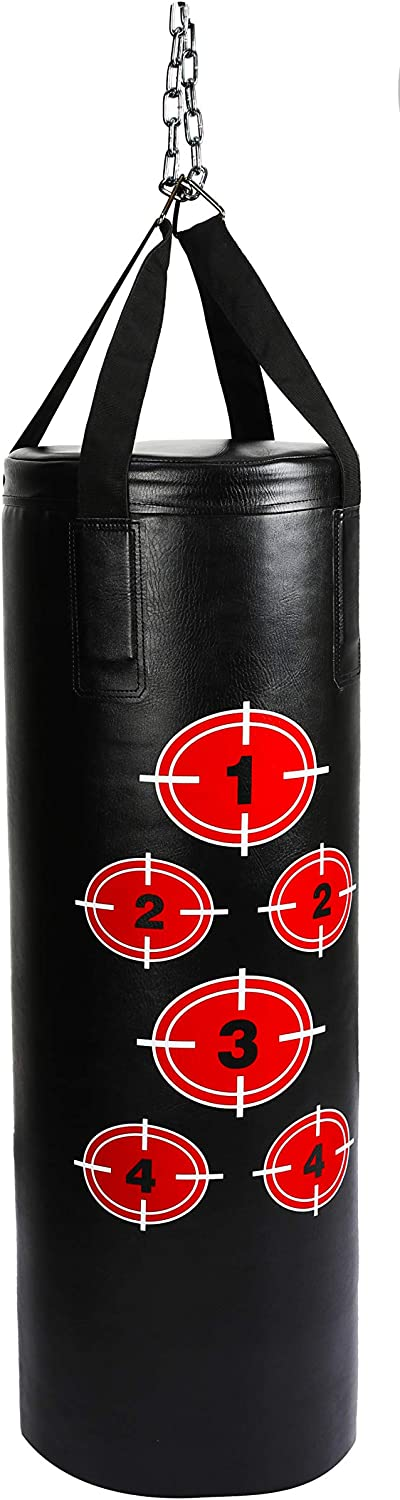 BalanceFrom Surprise price Workout MMA 70 Pound Max 49% OFF with Heavy Punching Boxing Bag