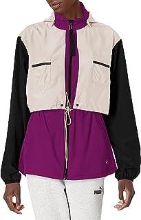 PUMA womens Train First Mile Woven Jacket Train First Mile Woven Jacket