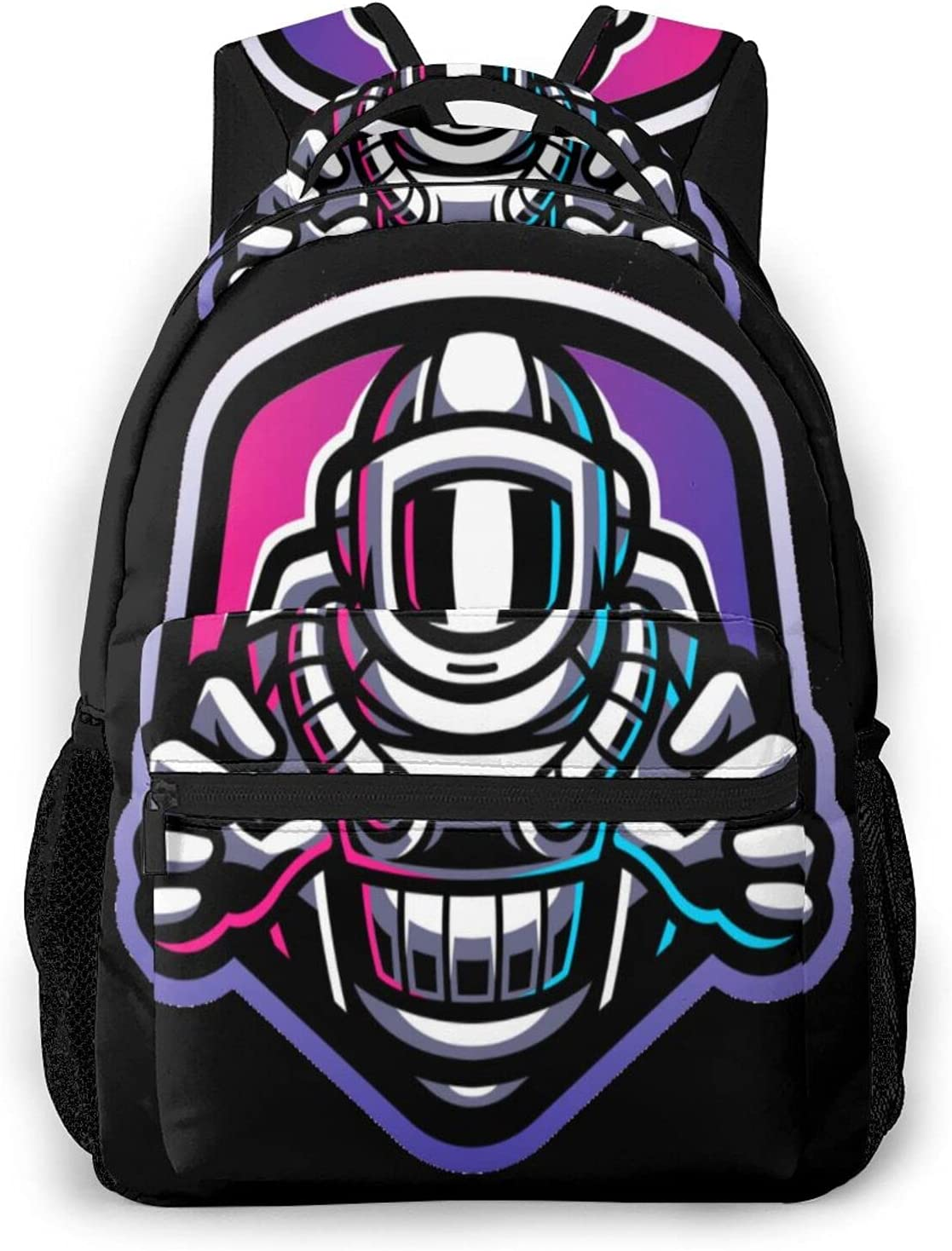 Excellent Astronaut Very popular! in Galaxy 3D Printing College Laptop Bookbags Rucksack
