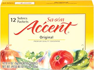 Sa-son Accent Seasoning, Original Flavor,12 Packets (Pack of 24)
