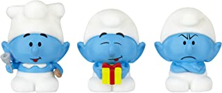 The Smurfs, Micro Village, Micro Figures Cook, Grouchy, and Jokey, 3-Pack