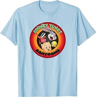 Looney Tunes Cartoons Circle T-Shirt