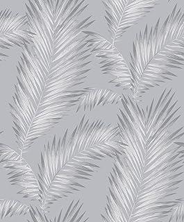 comprar comparacion Arthouse Papel Pintado Ardita, Plateado, 53 cm x 10.05 m