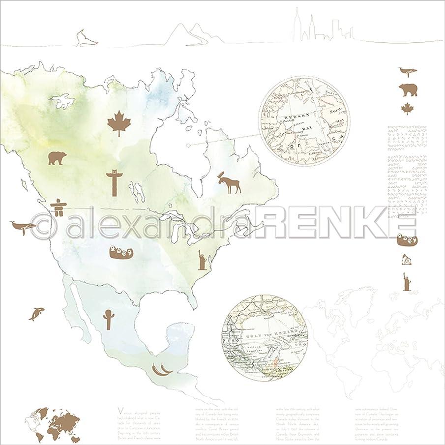 Alexandra Renke America Watercolor Travel Design Paper 12