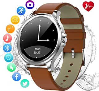 Smartwatch-Fitness Tracker with All Day Heart Rate Monitor,IP67 Waterproof,Sleep Monitoring, GPS,Bluetooth Control Phone Camera NFC,and Smartphone Notifications.Compatible with iPhone Android Phones