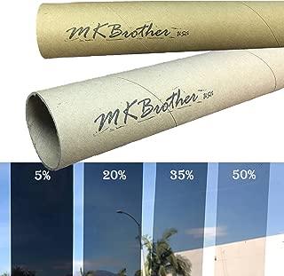 Mkbrother Uncut Roll Window Tint Film 35% VLT 60