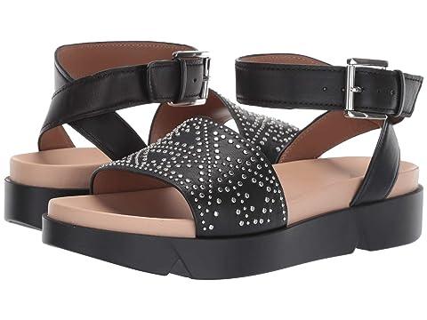 Emporio Armani Studded Platform Sandal