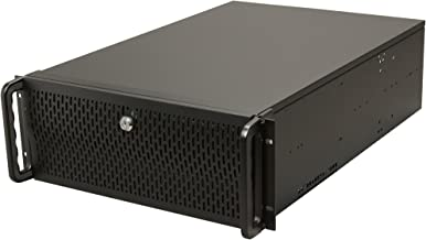 Rosewill 4U Server Chassis/Server Case/Rackmount Case, Metal Rack Mount Computer Case Support with 15 Bays & 7 Fans Pre-Installed (RSV-L4500)