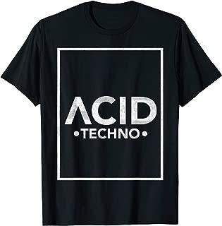 ACID TECHNO   LSD, Goa, Trip, Rave, Festival, Techno T-Shirt